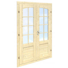 Divviru durvis 114x180 cm (34mm)