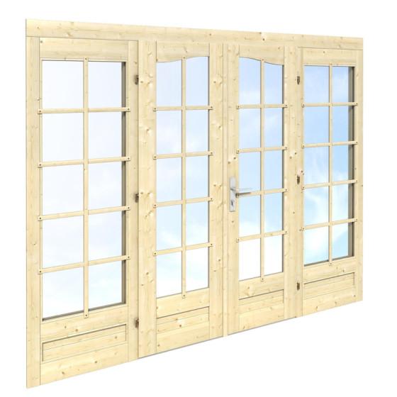 Double door 239 x 194 (44mm)