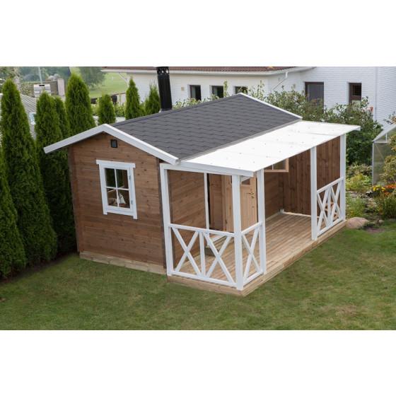 Sauna 58 mm sienas biezums ar siltinājumu