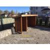 Garbage container holder EKO 2