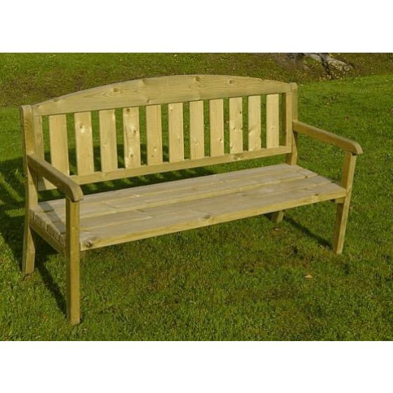 Trīsvietīgs dārza krēsls